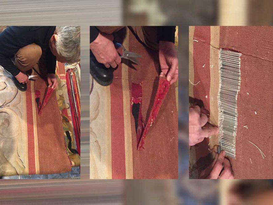 Restauration et réparation de tapis Lens