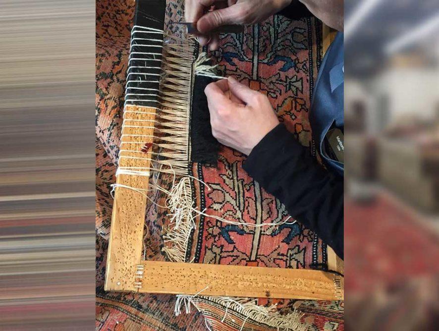 Restauration et réparation de tapis Enghien-les-Bains
