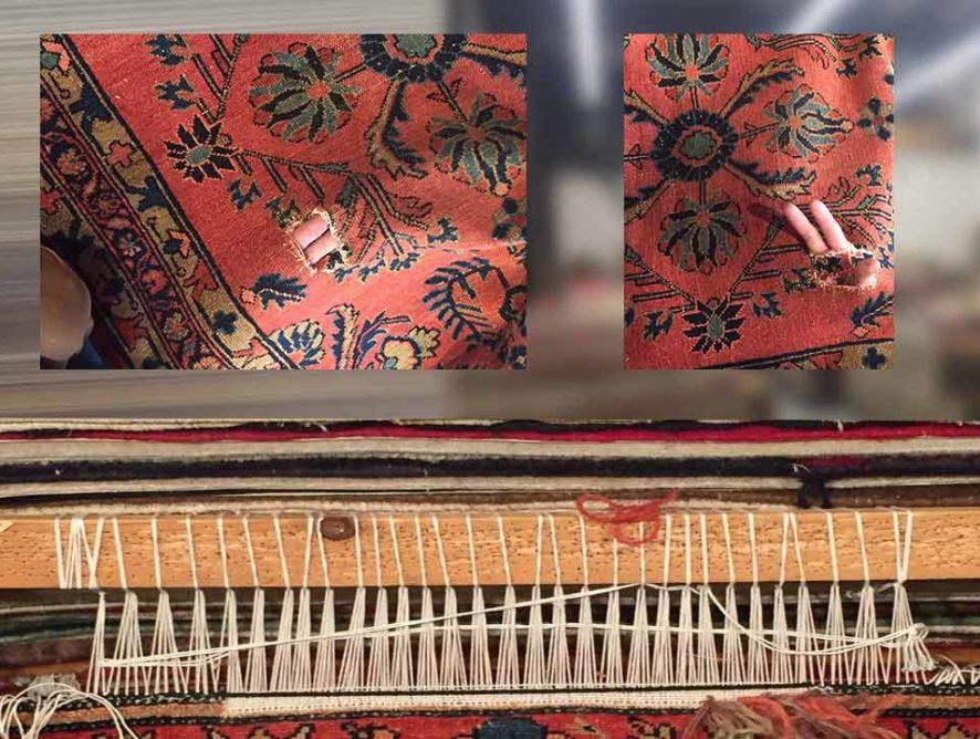 Restauration et réparation de tapis Fréjus